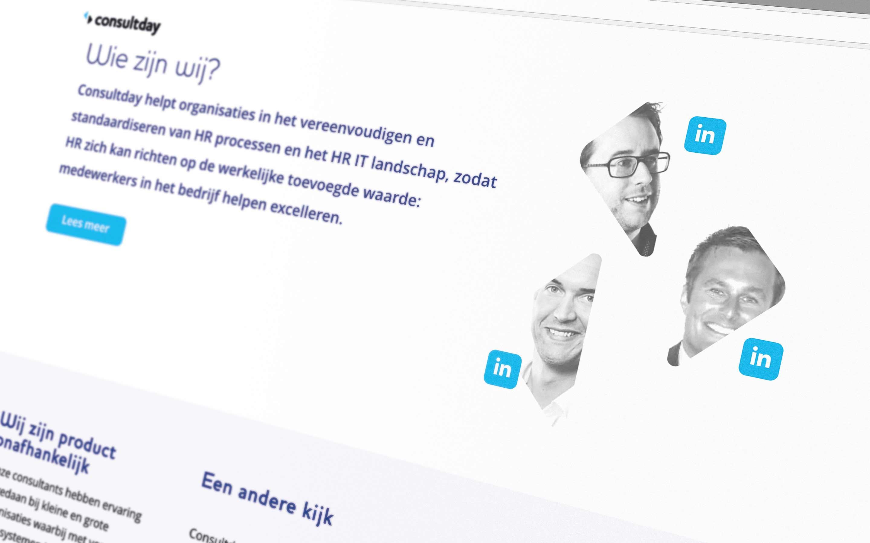 Detail 2 - Consultday website ontwerp door JAgd ontwerp