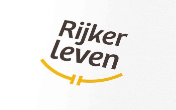 Detail - Rijker leven logo & huisstijl door JAgd ontwerp