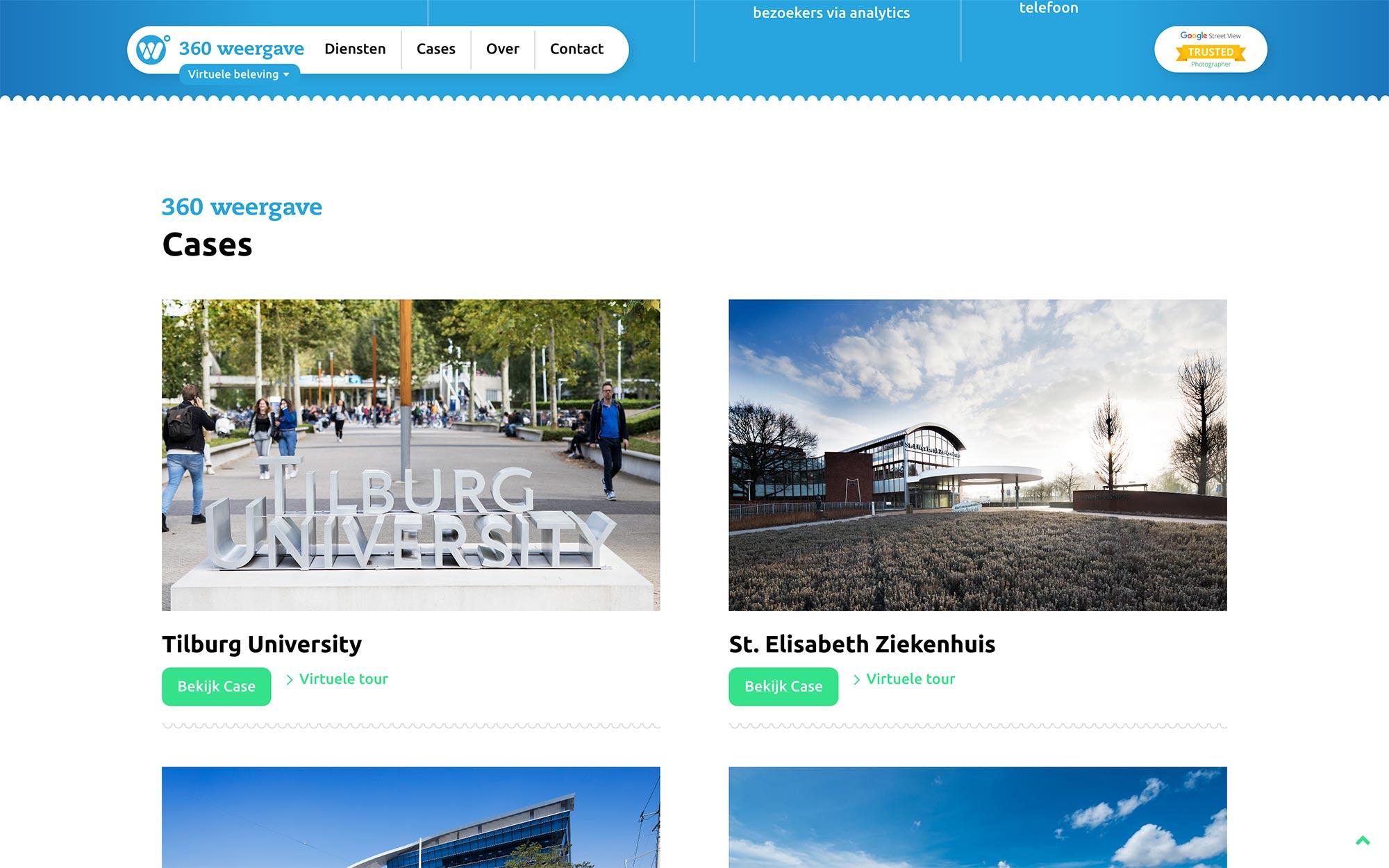 Virtuele beleving 360weergave website JAgd ontwerp 2