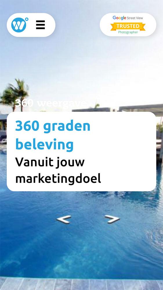Virtuele beleving 360weergave website JAgd ontwerp 3