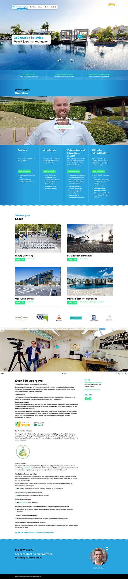 Virtuele beleving 360weergave website JAgd ontwerp 5