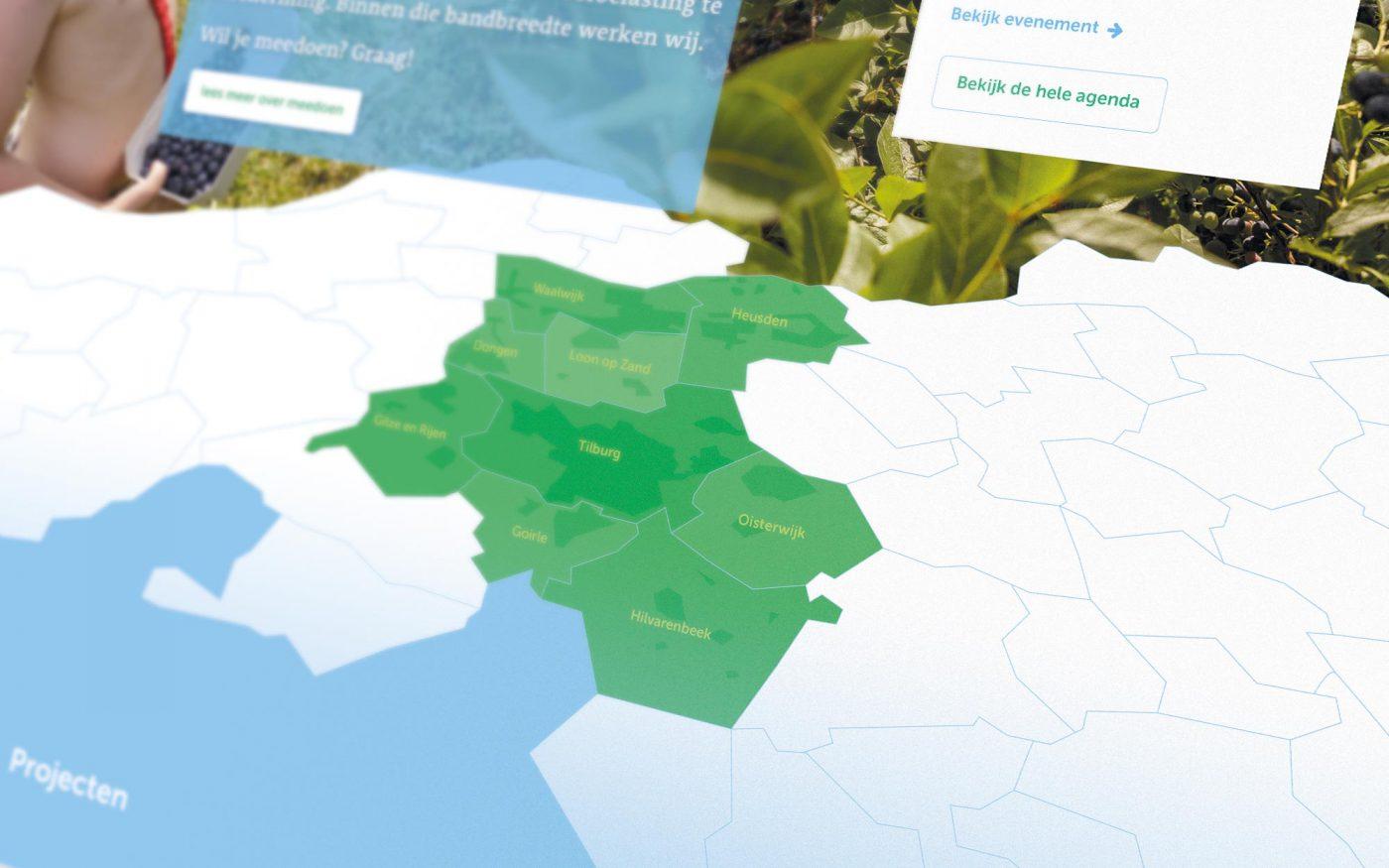 Vitaal Leisure Landschap website JAgd ontwerp detail 2