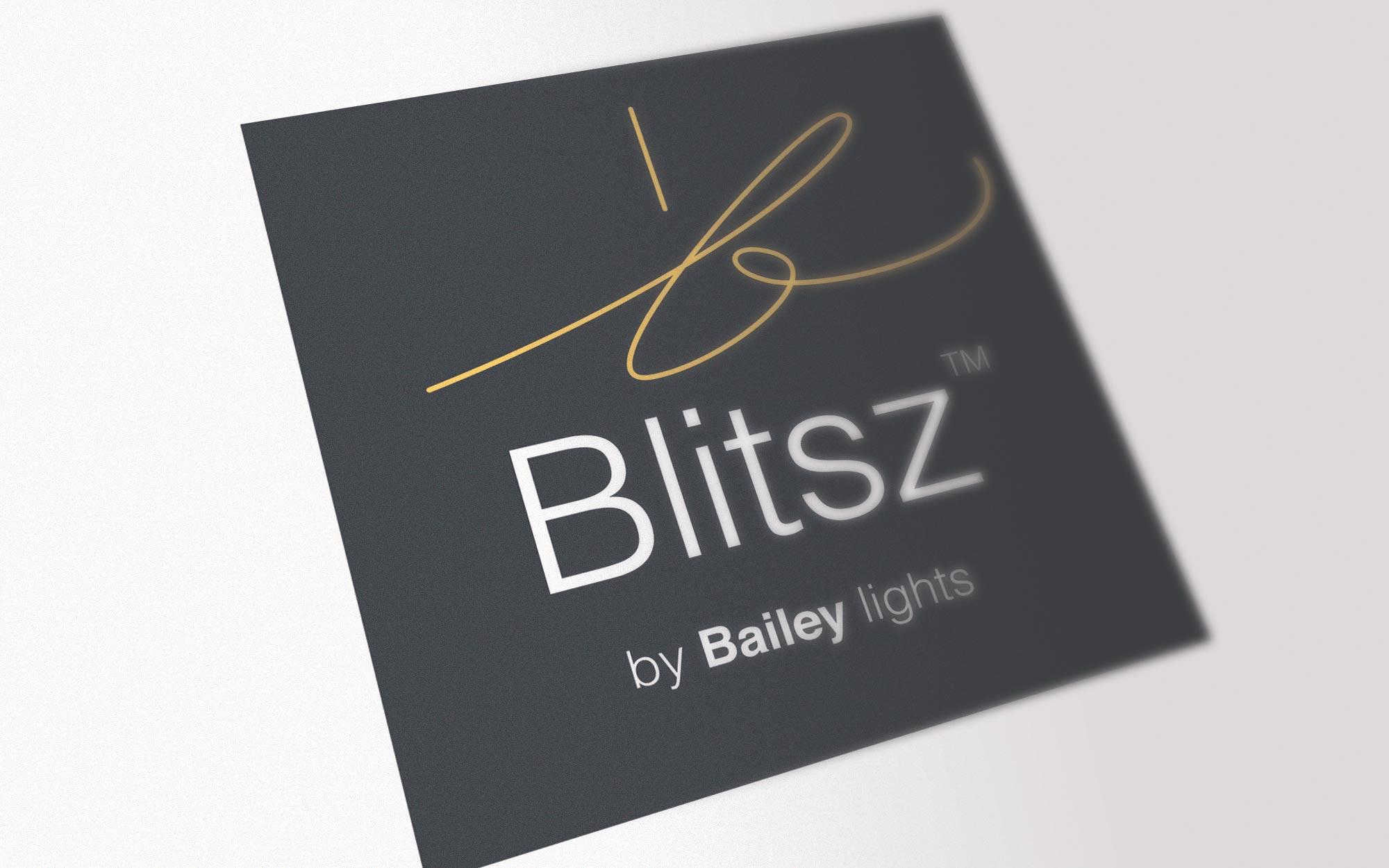 Blitsz Bailey logo ontwerp JAgd detail