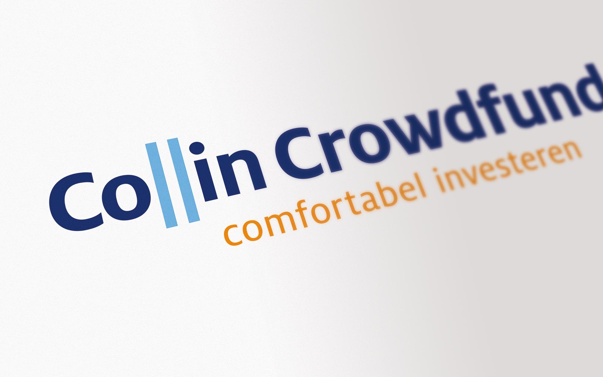 Collin Crowdfund logo ontwerp JAgd detail