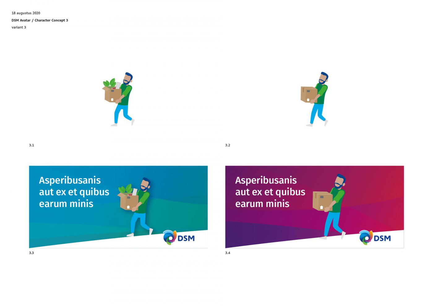 DSM avatar BEX Communicatie infographic ontwerp JAgd 3