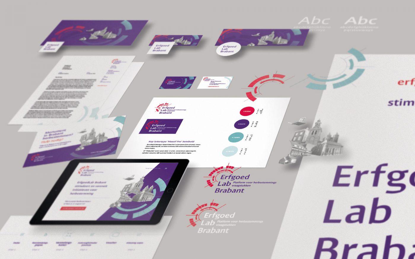 Erfgoed Lab branding JAgd ontwerp 2