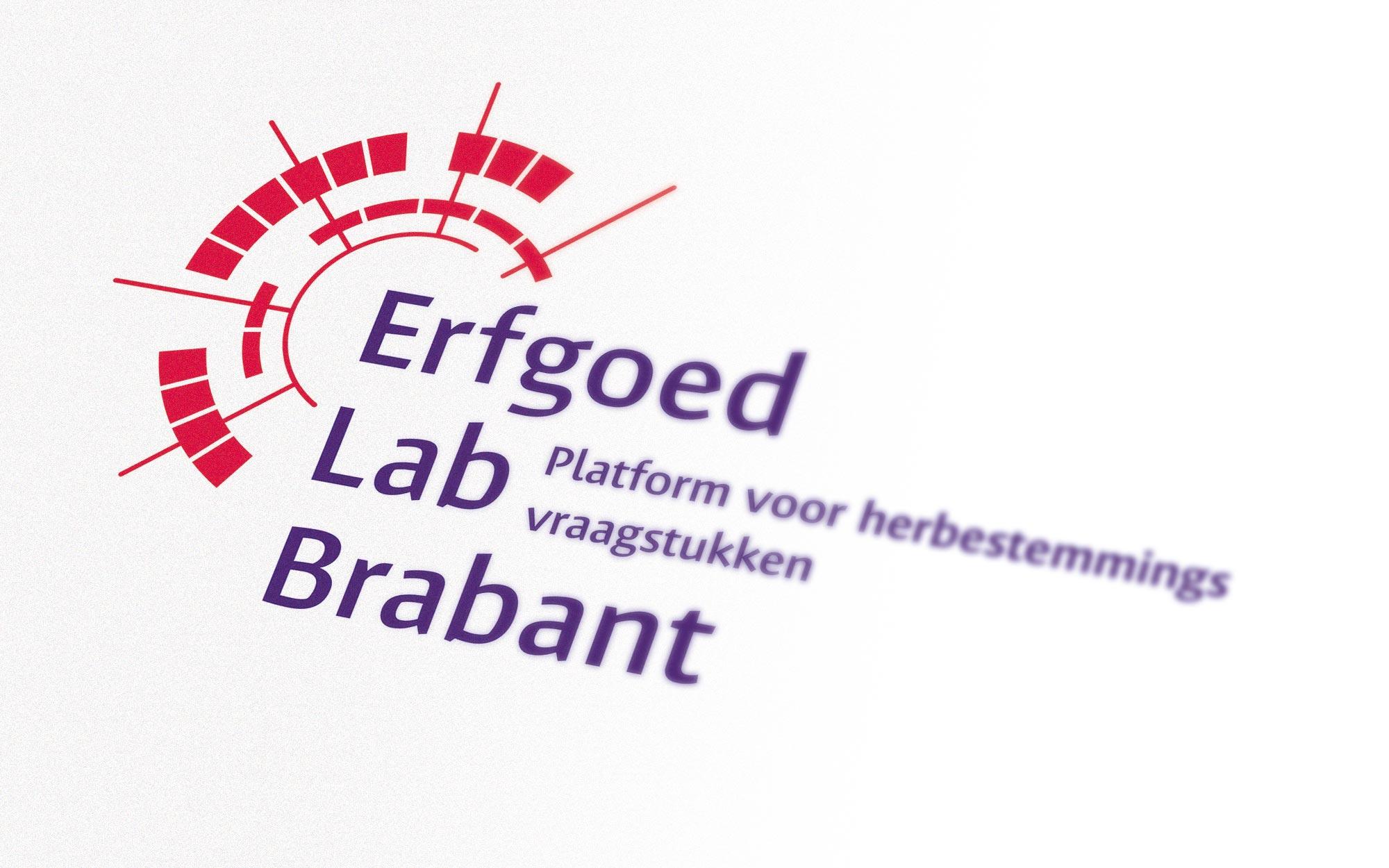 Erfgoed Lab logo ontwerp JAgd detail