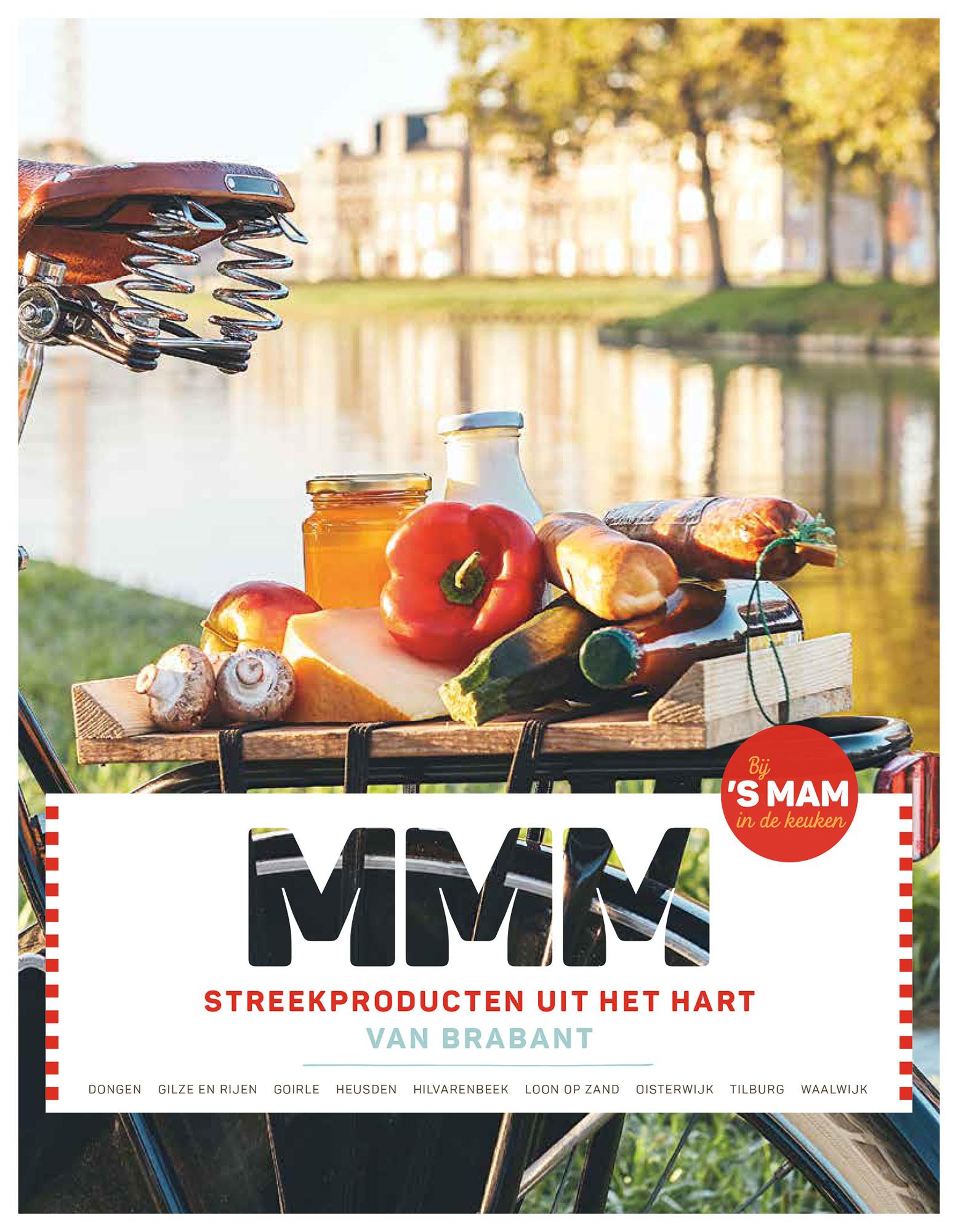 MMM streekproducten uit het Hart van Brabant Midpoint Brabant grafisch drukwerk ontwerp JAgd
