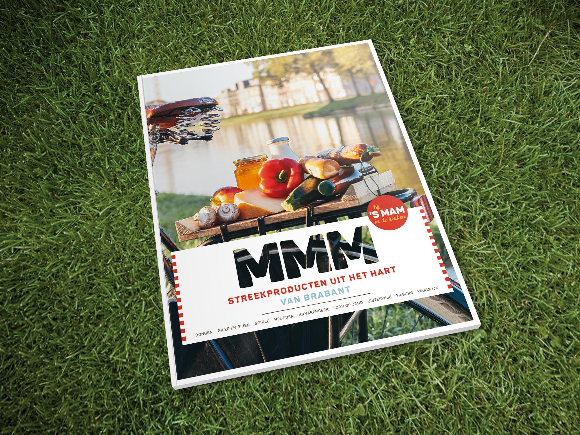 MMM streekproducten uit het Hart van Brabant Midpoint Brabant grafisch drukwerk ontwerp JAgd 1