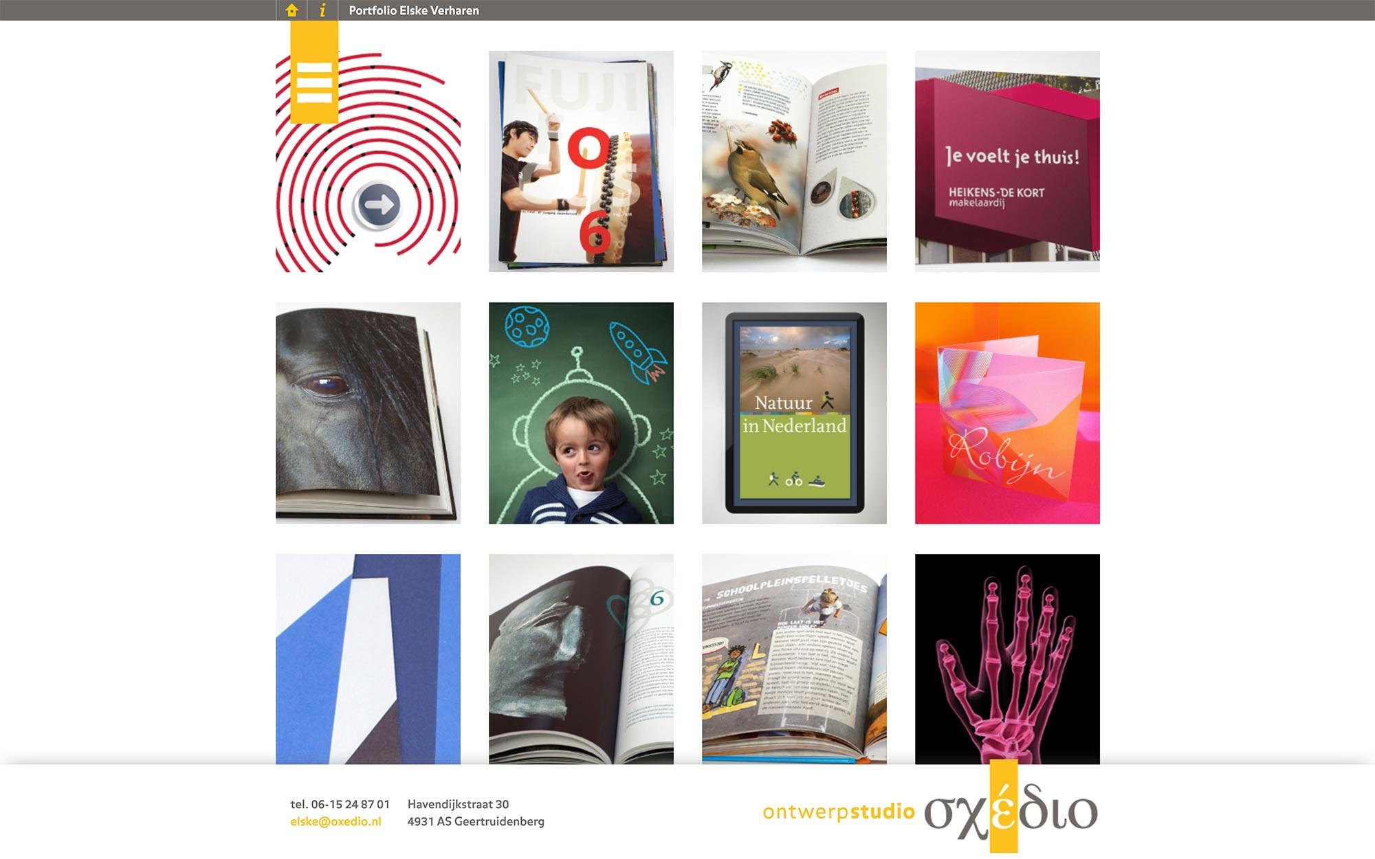 Oxedio website JAgd ontwerp