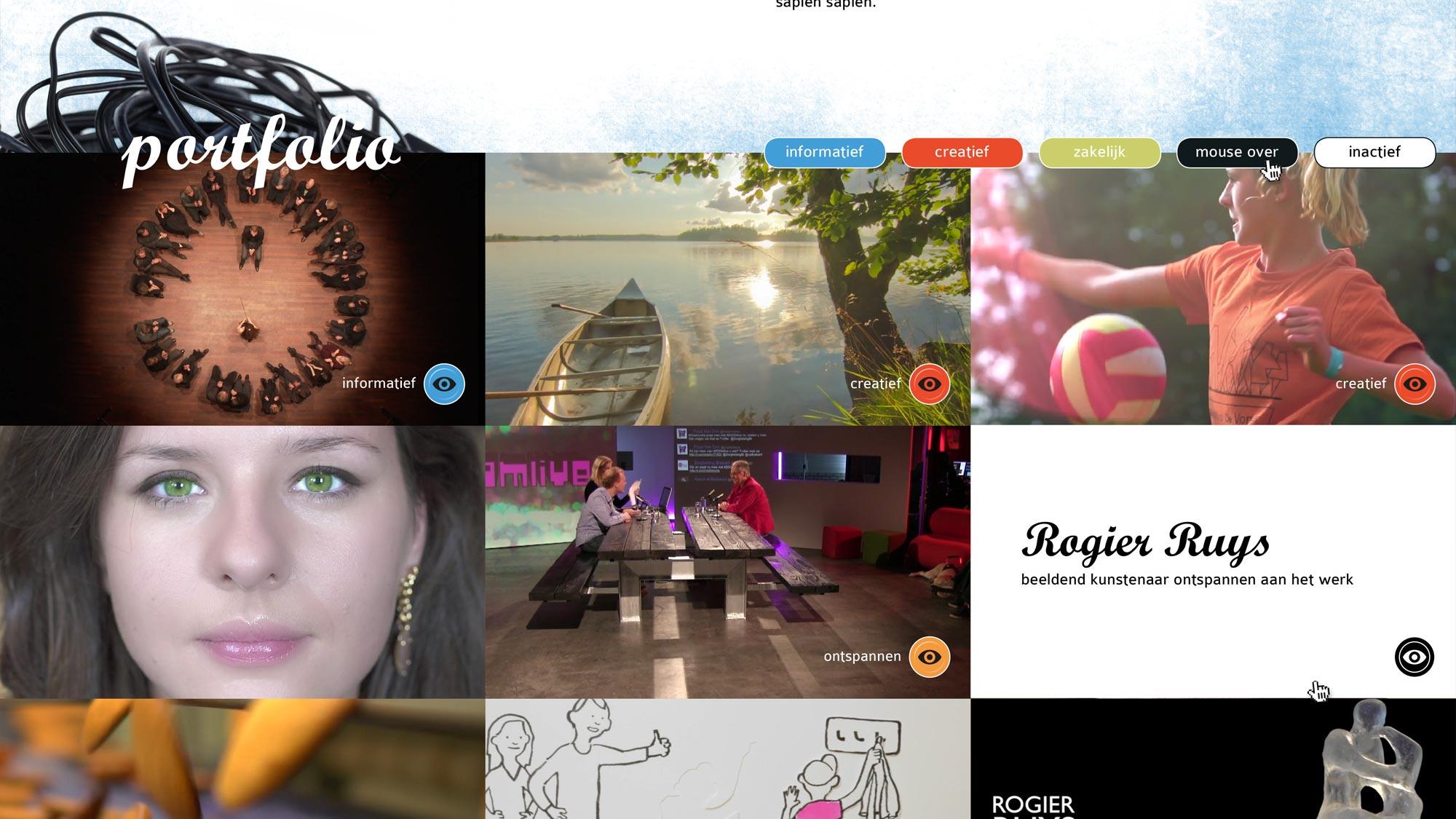 Pasta Media website JAgd ontwerp 2