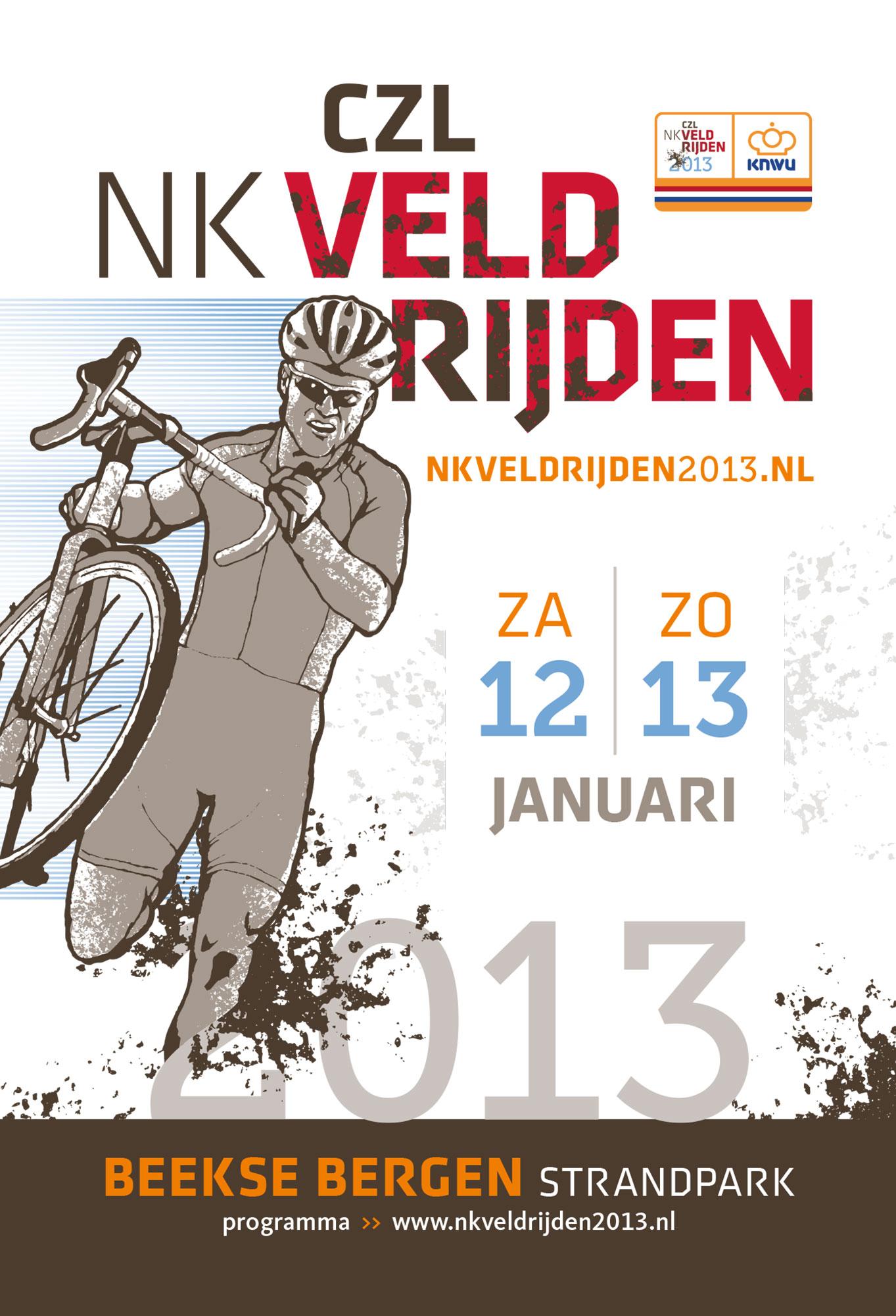 NK Veldrijden Poster grafisch drukwerk ontwerp JAgd