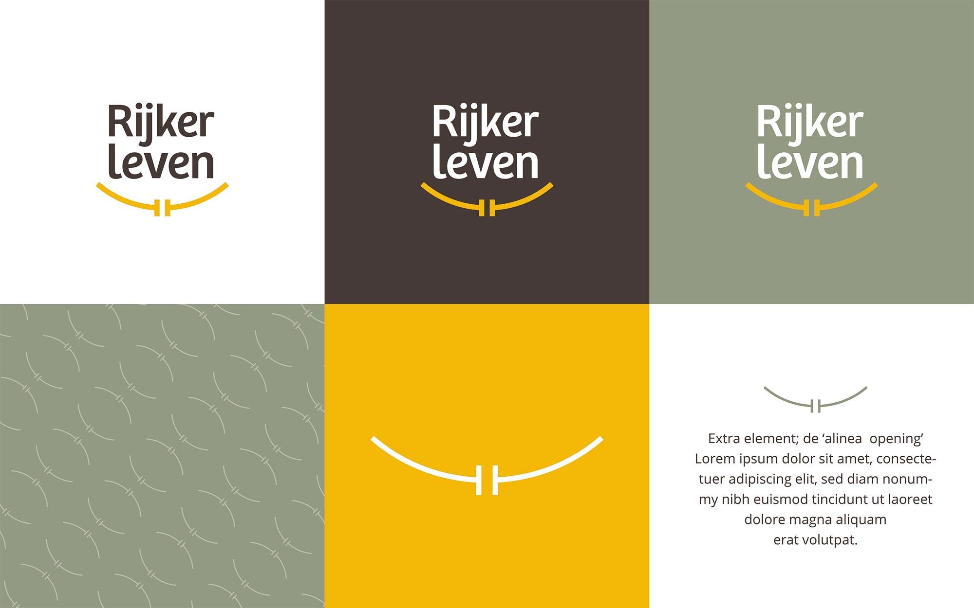 Rijker Leven logo ontwerp JAgd detail 3