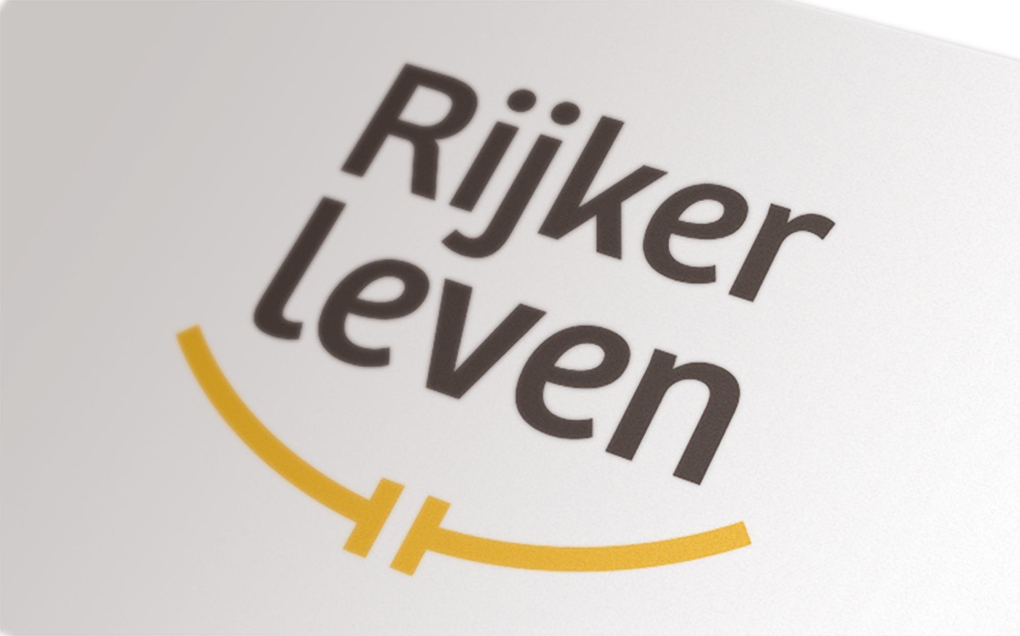 Rijker Leven logo ontwerp JAgd detail 2