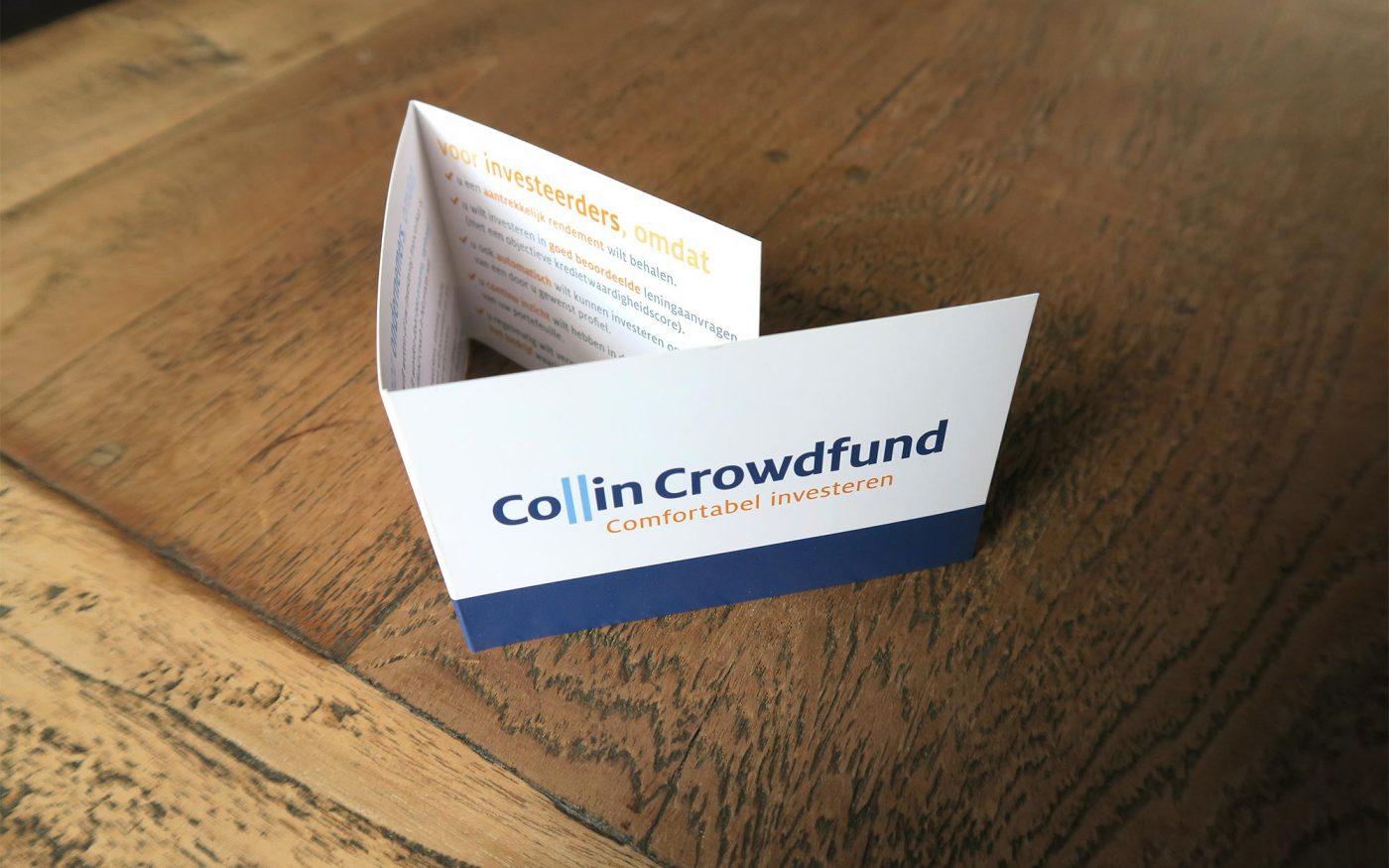 Visitekaartje Collin Crowdfund grafisch drukwerk ontwerp JAgd