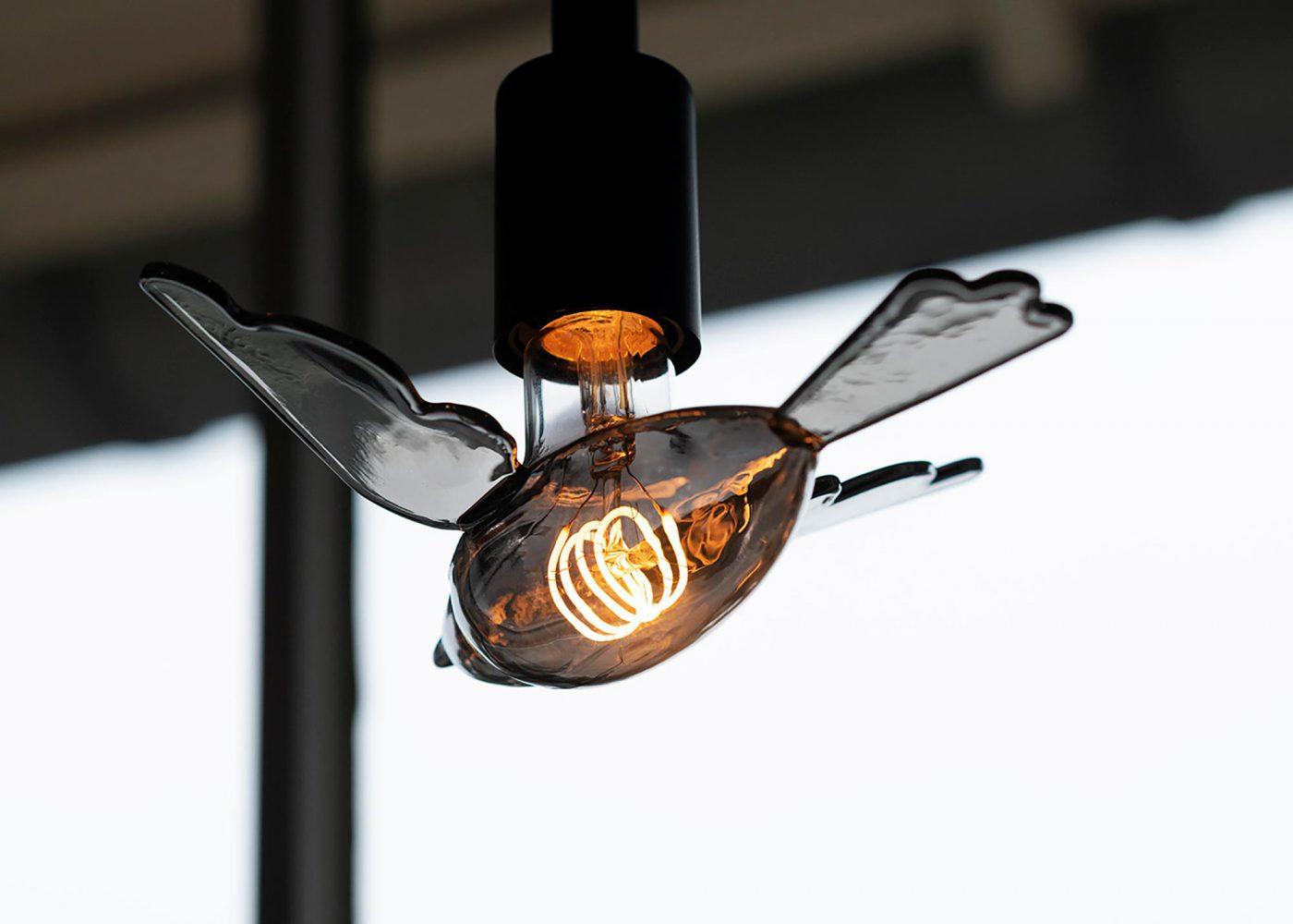 LED bird Bailey 3D ontwerp JAgd 3