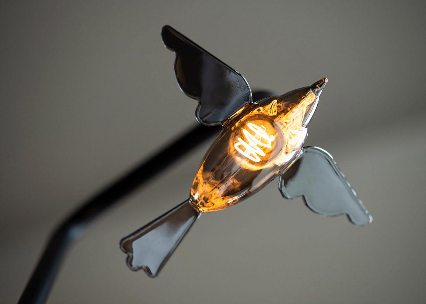 LED bird Bailey 3D ontwerp JAgd 4