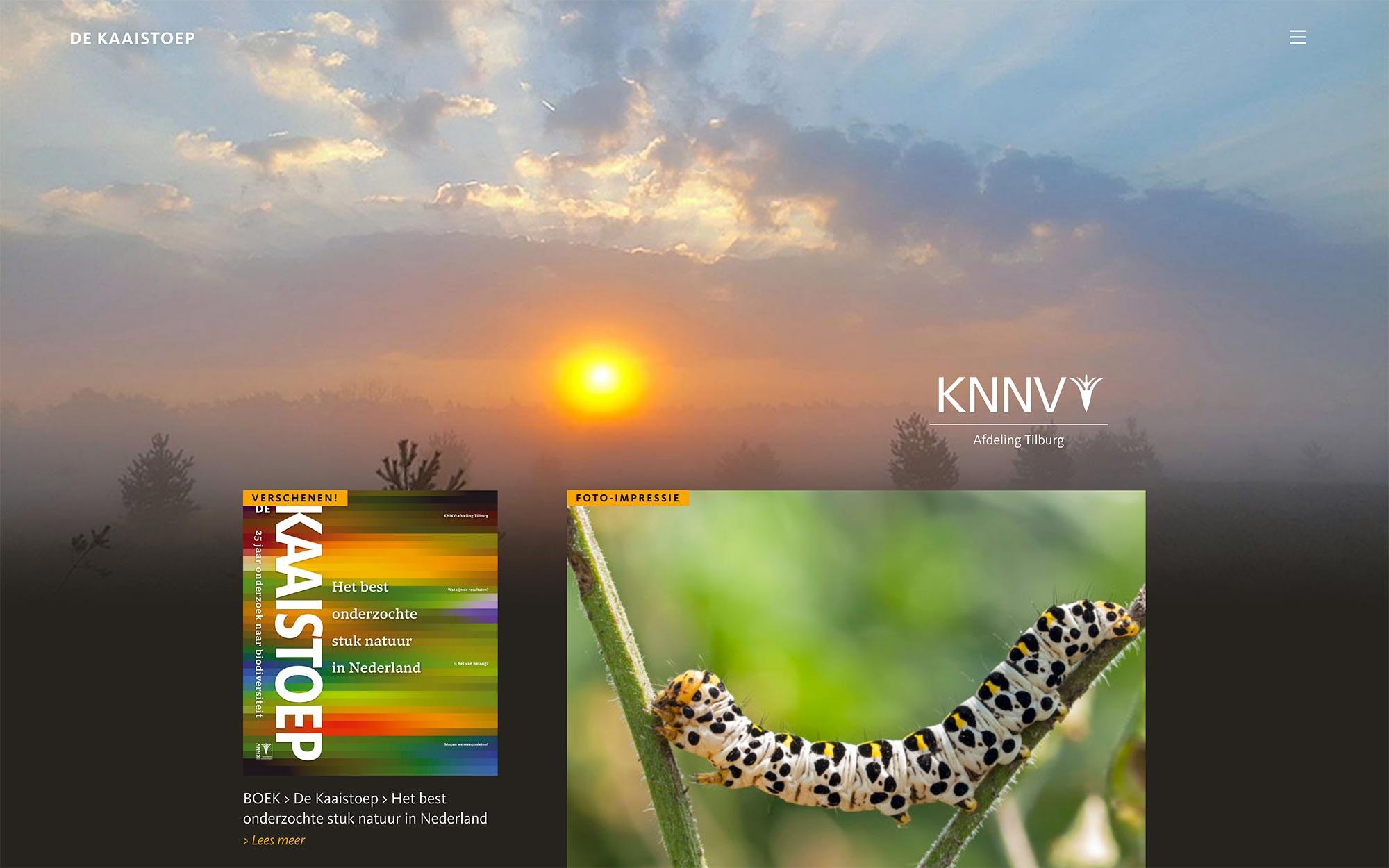 De Kaaistoep website JAgd ontwerp 2