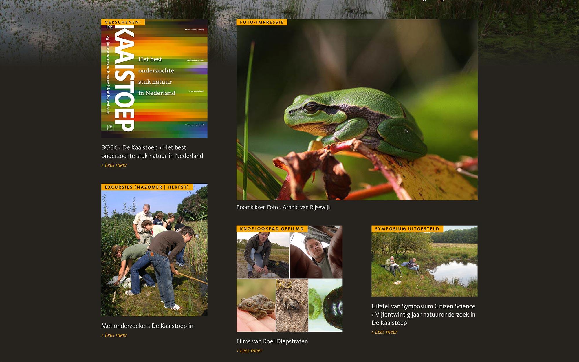 De Kaaistoep website JAgd ontwerp 4