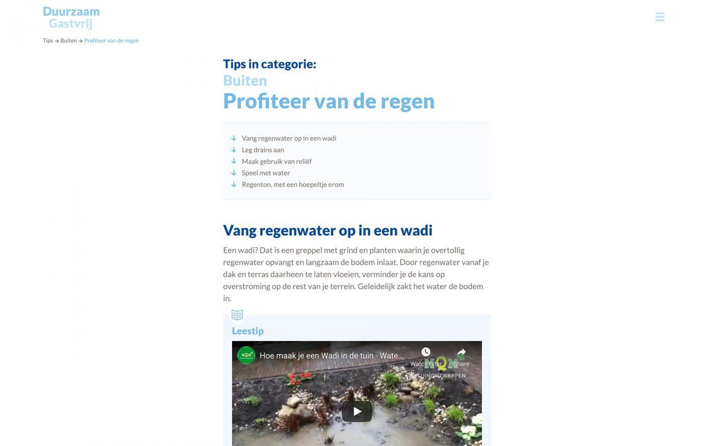 Duurzaam Gastvrij website Een Gezond Leisureklimaat JAgd ontwerp 4