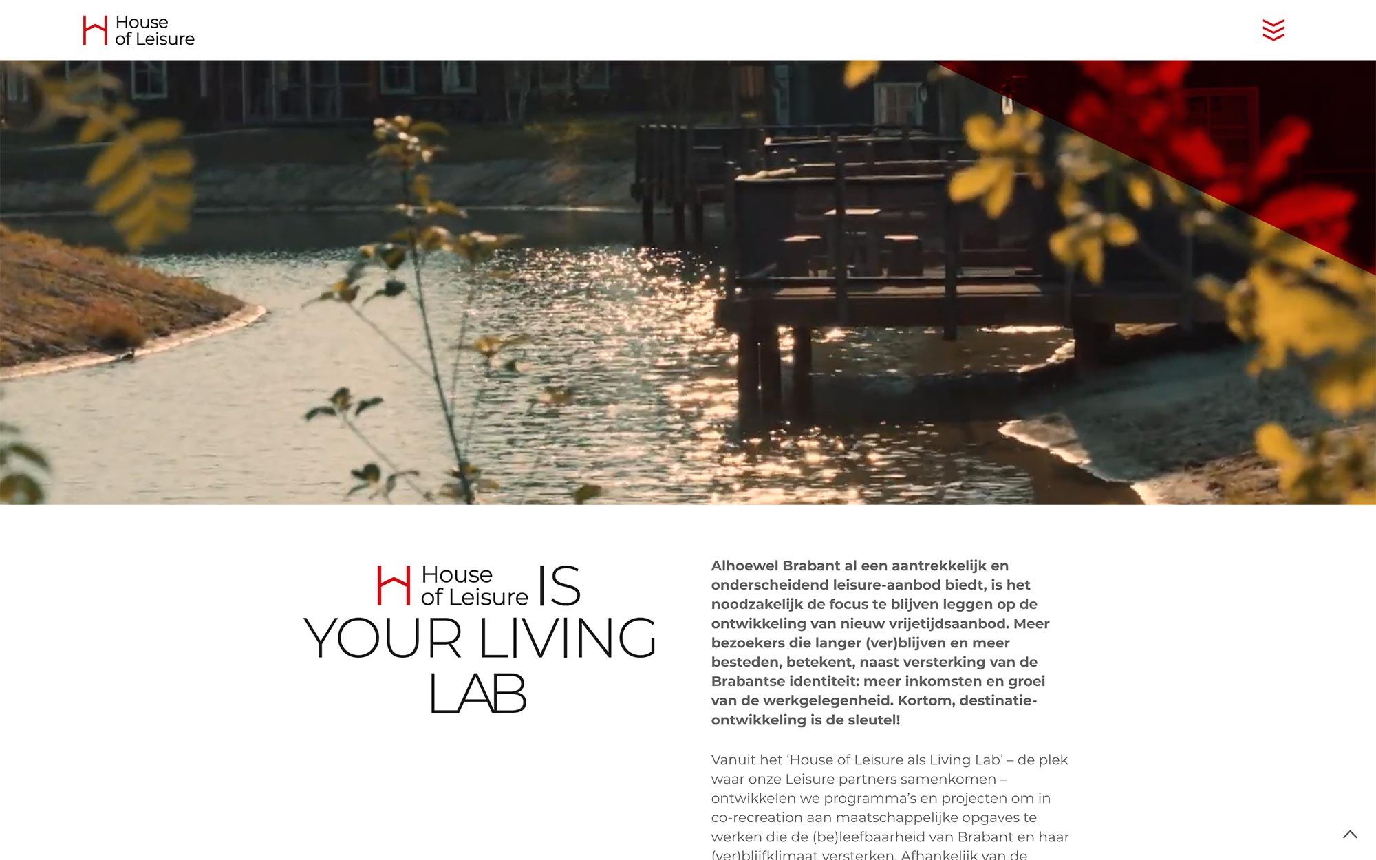 House of Leisure website 2 JAgd ontwerp 5
