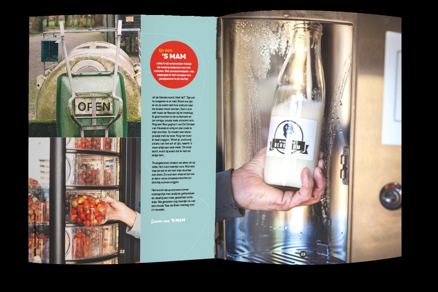 MMM streekproducten uit het Hart van Brabant Midpoint Brabant grafisch drukwerk ontwerp JAgd 3