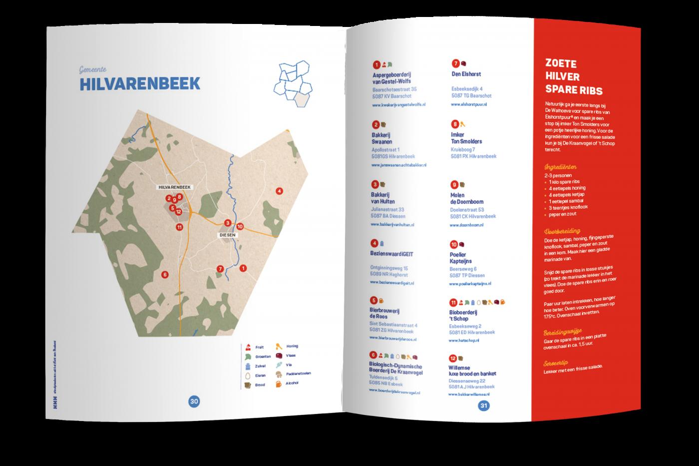 MMM streekproducten uit het Hart van Brabant Midpoint Brabant grafisch drukwerk ontwerp JAgd 4