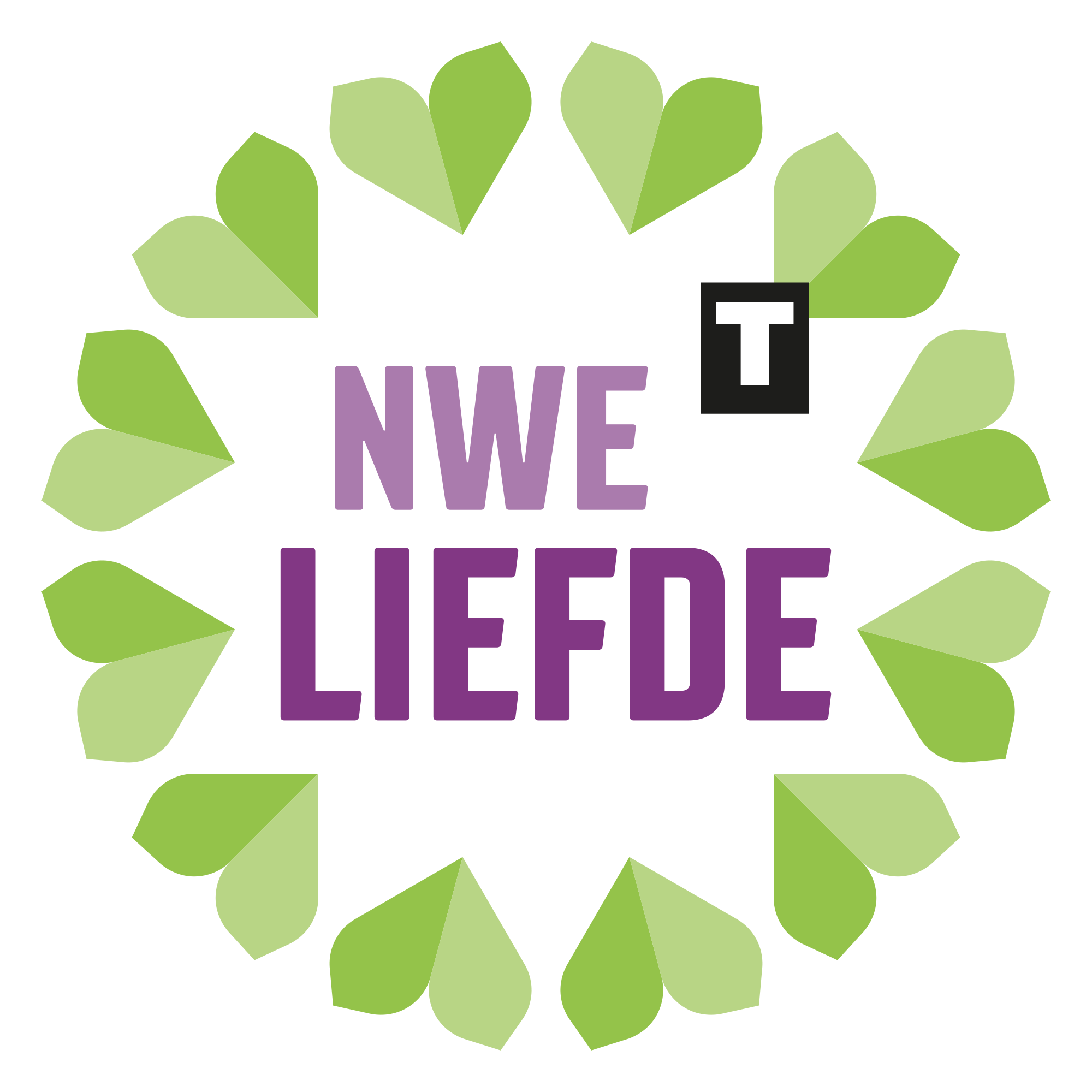 Nieuwe Liefde Tilburg logo ontwerp JAgd
