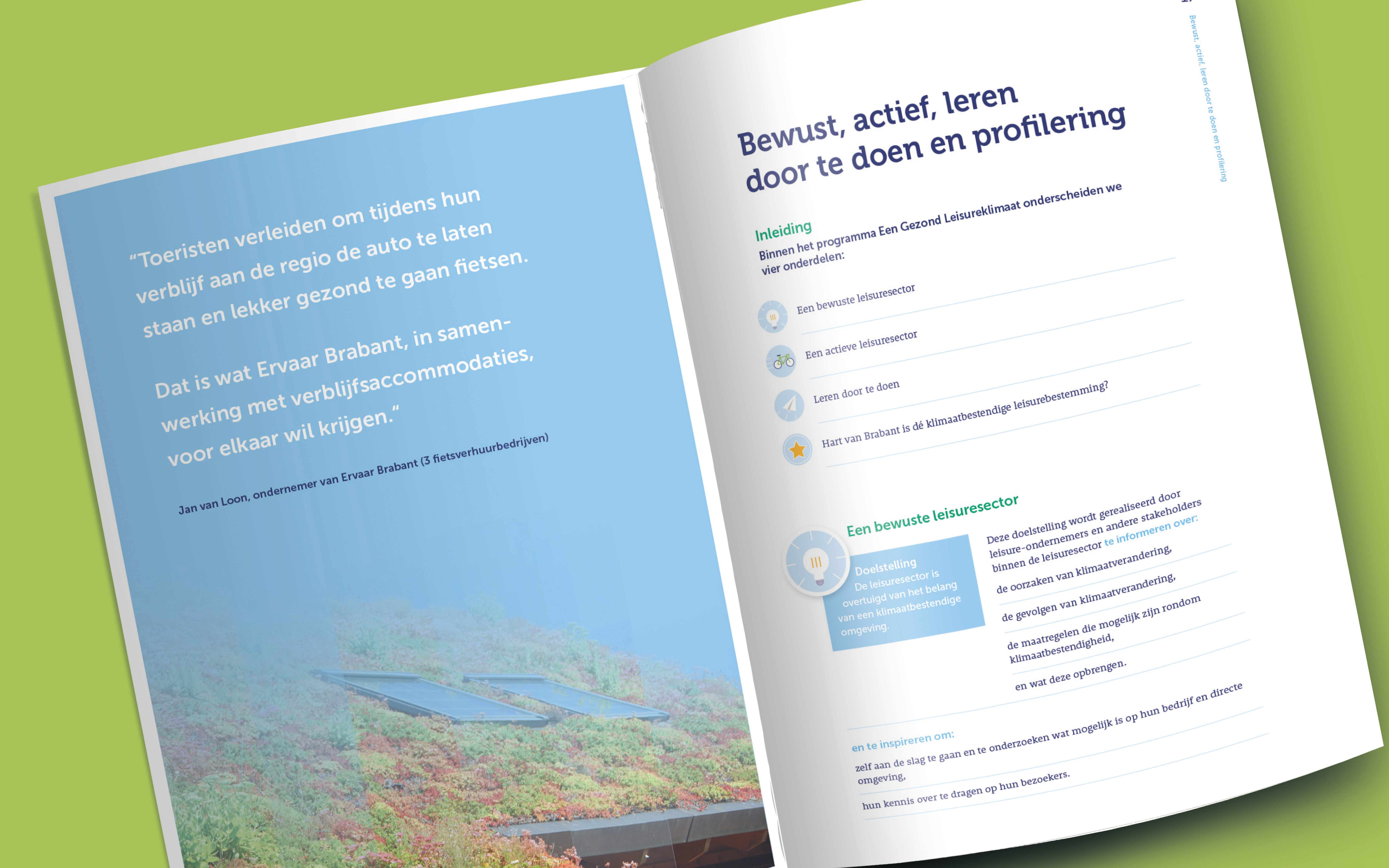 layout Klimaatplan Vitaal Leisure Landschap JAgd ontwerp